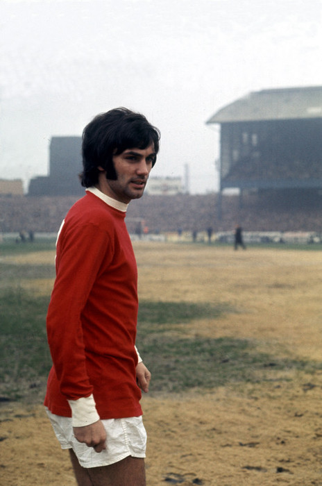 George Best of Manchester United, 1969. Image courtesy of Mirrorpix.