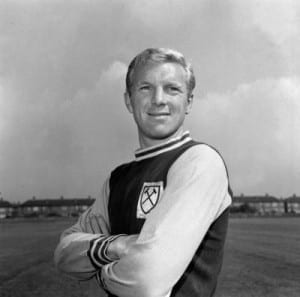 England player Bobby Moore August 1962  West ham United Training. Pic by Mirrorpix.