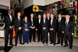 Patrick Vieira, Alan Shearer, Sylvia Gore, Trevor Francis, Roger Hunt, Sir Bobby Charlton, Sir Trevor Brooking, Jimmy McIlroy, Michael Owen and Gordon Taylor were among inductees and award presenters in 2014.