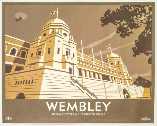 Wembley-Retro-Print