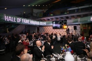 National Football Museum Hall of Fame 2014. Inductees attended included Patrick Vieira, Michael Owen, Jimmy Mcilroy, Alan Shearer, Trevor Francis, Matt Dimbylow, Sylvia Gore MBE