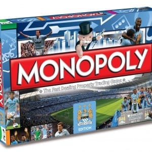 Manchester City Monopoly Board Game