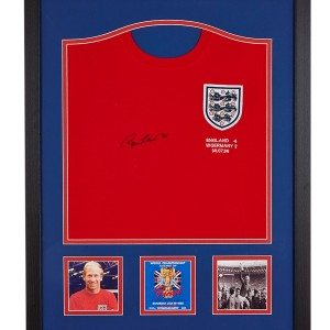 Sir Bobby Charlton Signed England Shirt