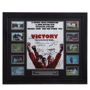 Escape to Victory Signed Photograph