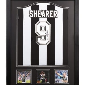 Alan Shearer Newcastle United 9 Signed Shirt