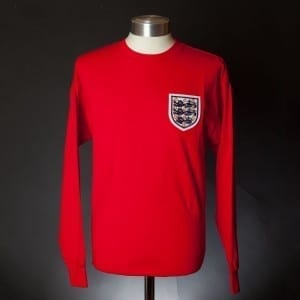 1966 England World Cup No. 6 Shirt
