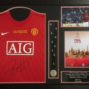Ryan Giggs Manchester United Champions League Shirt with Medal