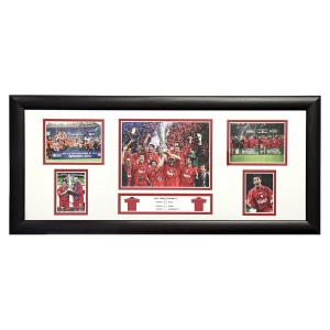 Robbie Fowler Signed Liverpool Storyboard