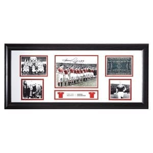Harry Gregg Signed 1958 Busby Babes Storyboard