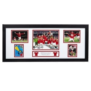 Teddy Sheringham Signed Storyboard