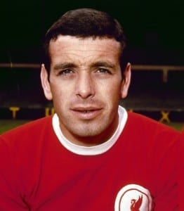 Liverpool footballer Ian Callaghan August 1967. Pic courtesy of Mirrorpix.