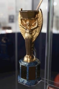 The 1966  Jules Rimet trophy. Picture © Jason Lock