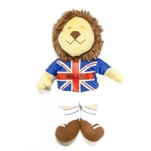 "World Cup Willie 12"" Plush Toy"