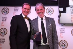 National Football Museum Hall of Fame evening 2016. Phil Thompson and Mark Lawrenson Picture: Karin Albinsson