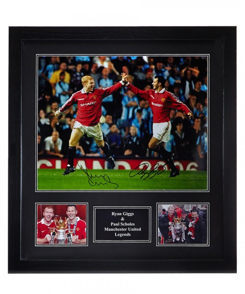 ART-PHO-0046 giggs scholes dual photo