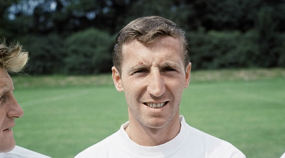Cliff Jones of Tottenham Hotspur poses at a pre-season photocall. August 1964.