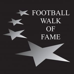Football WOF STARS with BLACK background