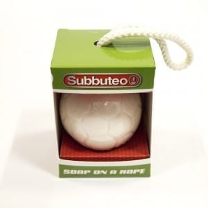 Subbuteo Soap on a rope 1