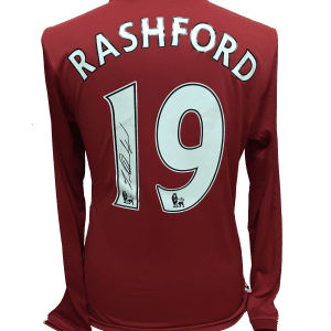 Rashford 19 shirt long sleeve 16-17
