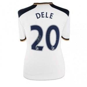 dele alli signed shirt