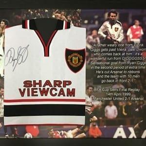 giggs semi final shirt printed mount