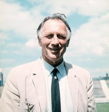 Manchester City manager Joe Mercer, pictured in 1969 (Image via Mirrorpix).