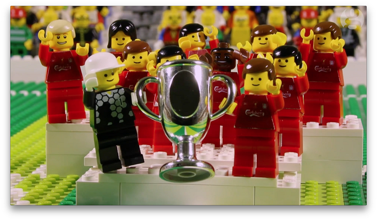 The Guardian's 'Brick by Brick' versions of famous football moments using LEGO have inspired hundreds of back bedroom studios to make LEGO sport shorts.
