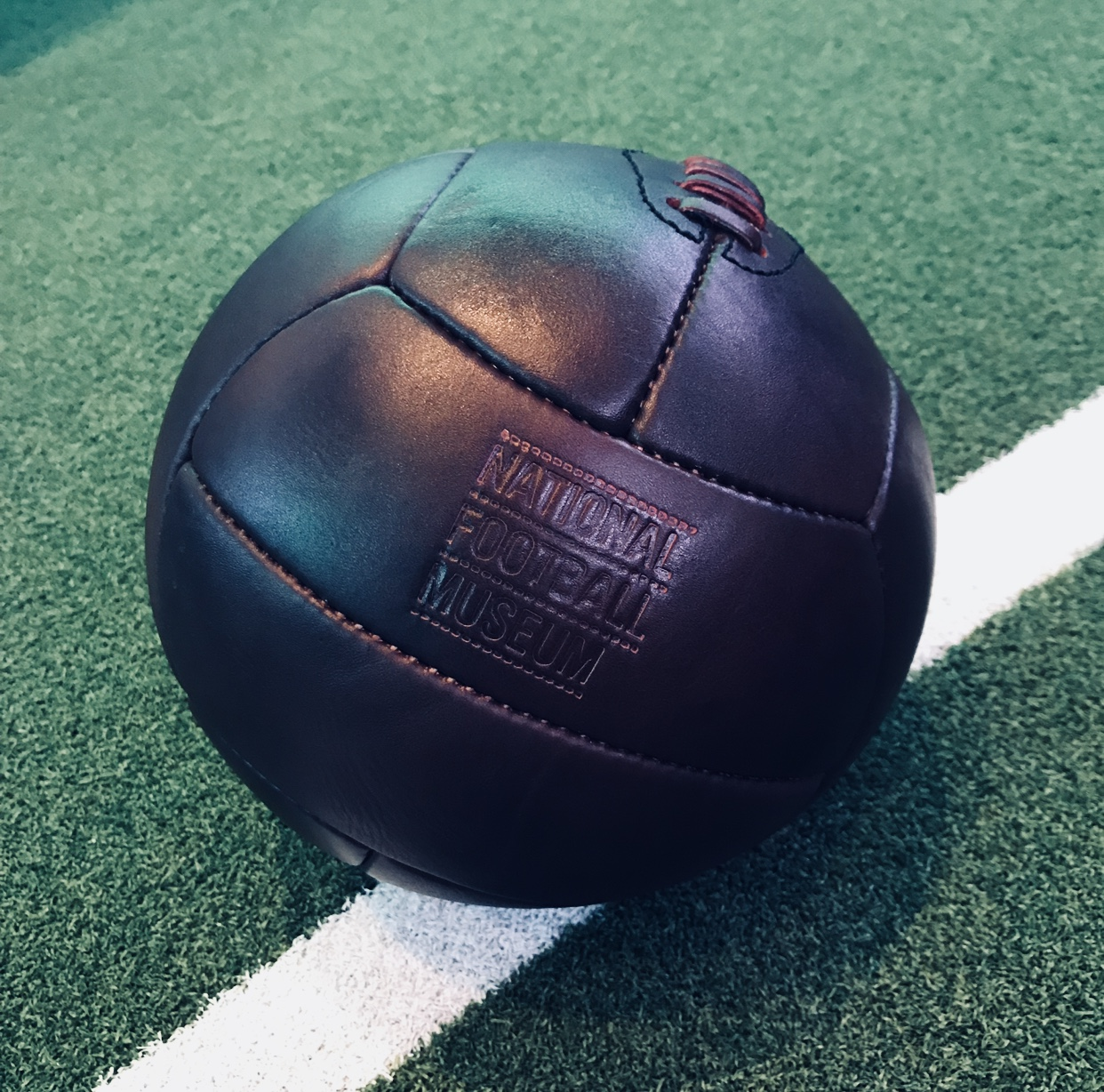 National Football Museum Leather 50's Style Football