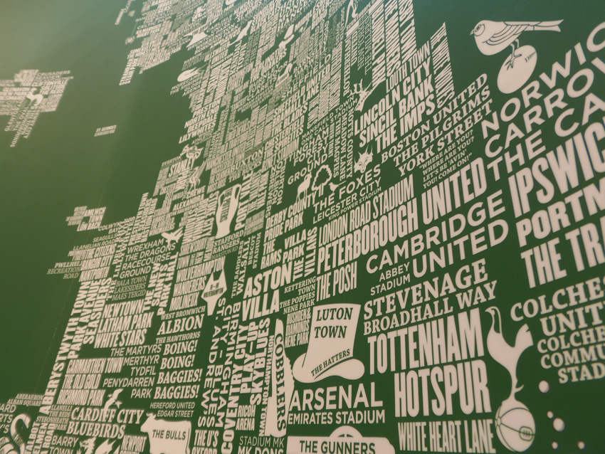 Home of Football Map