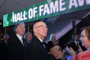 Sir Bobby Charlton at the National Football Museum Hall Of Fame 2014