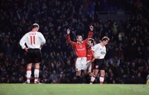 Eric Cantona Manchester United 1996