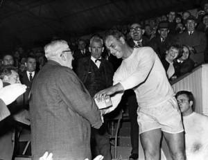 John_Charles at Hereford_United