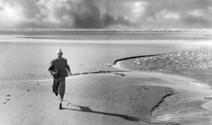 Stanley Matthews seen here training on an expanse of Blackpool Beach, October 1961. Pic courtesy of Mirrorpix.