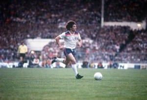 England v Argentina May 1980 Kevin Keegan Pic courtesy of Mirrorpix.