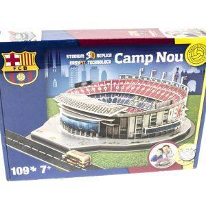 Barcelona Camp Nou Stadium 3D Puzzle