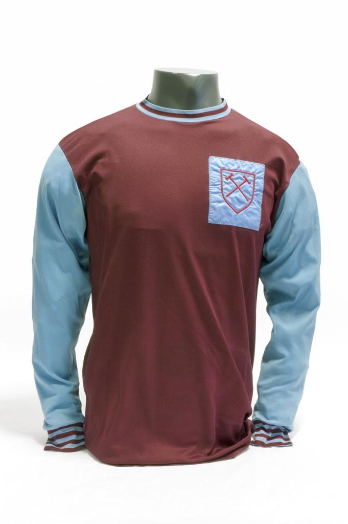 Bobby Moore West Ham Shirt Circa 1963
