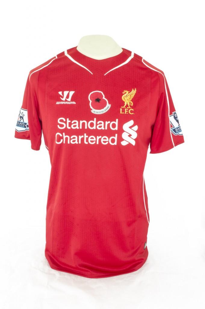 huge selection of 58716 f3e27 Liverpool Commemorative Shirt, 2014 - National Football Museum