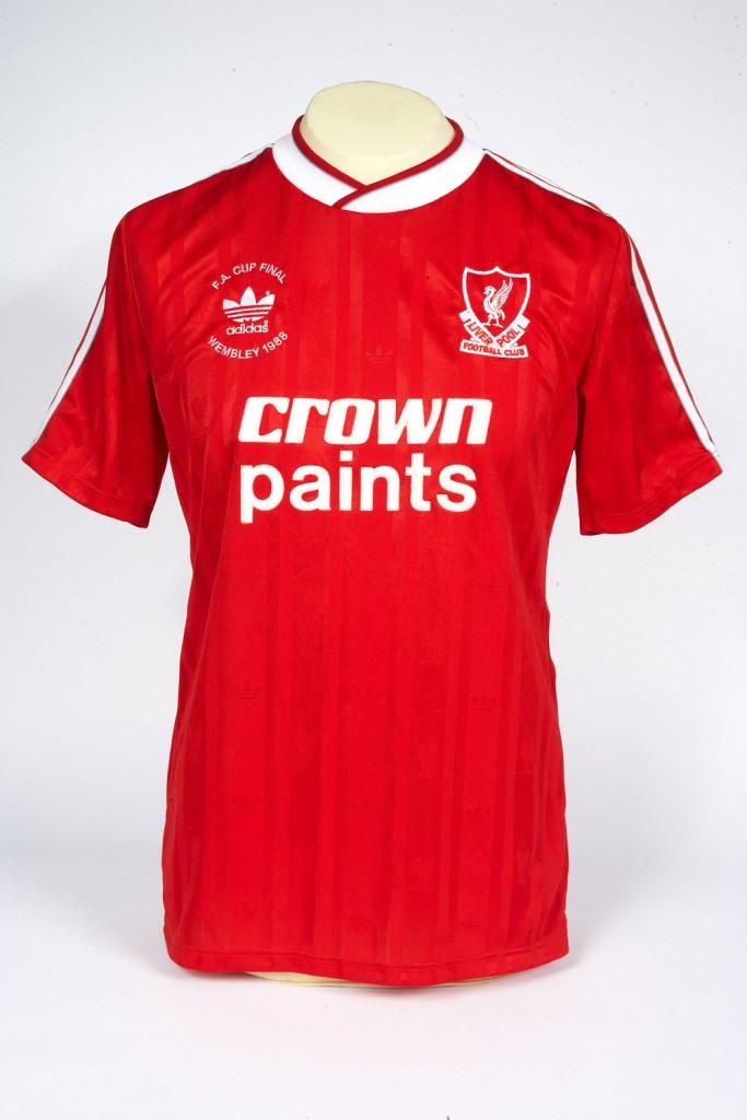 best sneakers 662ac 85544 Alan Hansen's Liverpool Shirt, 1988 - National Football Museum