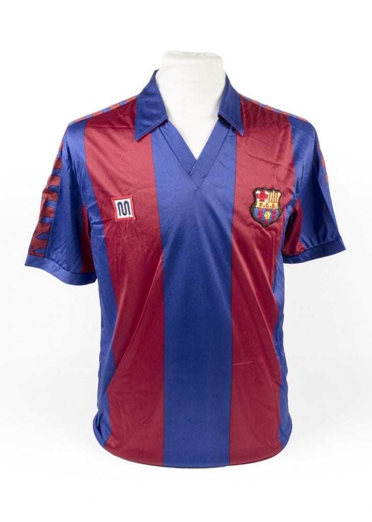 Diego Maradona S Barcelona Shirt 1983