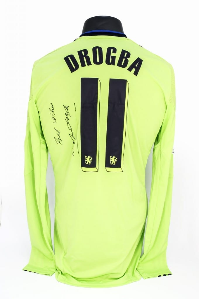 super popular 0d6b8 5b6f7 Didier Drogba's Chelsea Shirt, 2010 - National Football Museum
