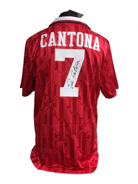 Eric Cantona Signed Manchester United Shirt 46b42e68c