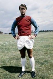 West Ham United footballer Geoff Hurst  July 1968. Pic courtesy of Mirrorpix