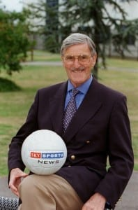 Jimmy Hill, new Sky presenter September 1998. Pic courtesy of Mirrorpix.