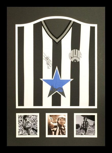 Kevin Keegan Newcastle Signed Shirt