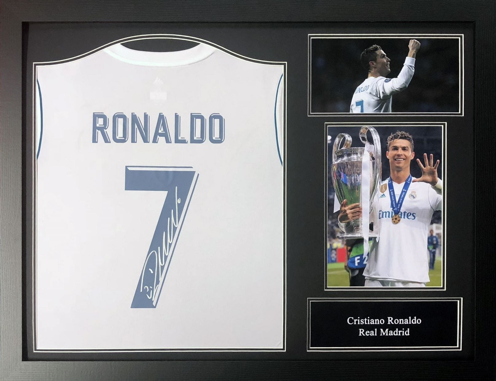 sports shoes 8c7f6 17693 cristiano ronaldo signed jersey