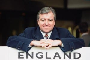 England manager Terry Venables. 28th February 1994. Pic courtesy of Mirrorpix.