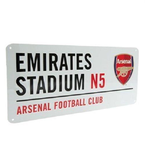 Emirates Stadium Street Sign