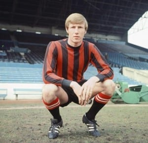 Manchester City's Colin Bell. 26th April 1969. Pic courtesy of Mirrorpix.