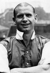 Arsenal Footballer Cliff Bastin, August 1949. Pic courtesy of Mirrorpix