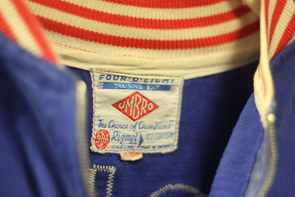 Bobby Moore's 1966 training kit, label.